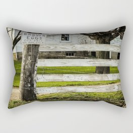 Brown Eggs for Sale Rectangular Pillow