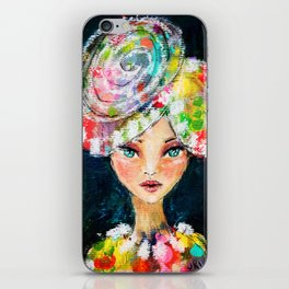 High Society Girl iPhone Skin