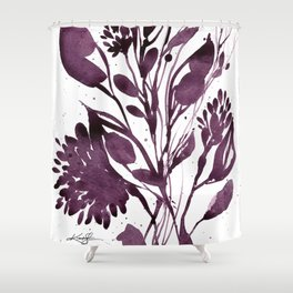 Organic Impressions No. 110 by Kathy Morton Stanion Shower Curtain