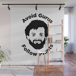 Terence Mckenna - Avoid Gurus, Follow Plants Wall Mural