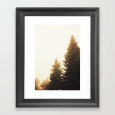 Now you call it summer? Framed Art Print