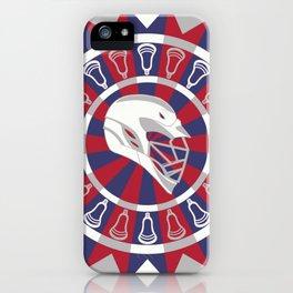 Lacrosse Shakey Dartboard iPhone Case