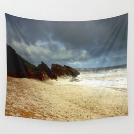Foaming Residue Wall Tapestry