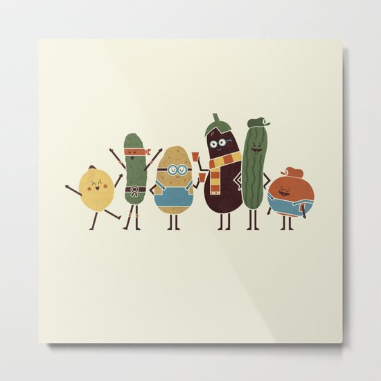 Costume Party Metal Print