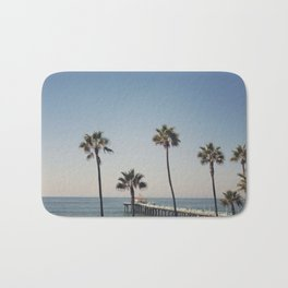 Manhattan Beach Pier Bath Mat