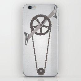 Bike Chain iPhone Skin