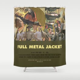 Full Metal Jacket - Stanley Kubrick Shower Curtain