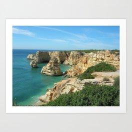 Algarve Art Print