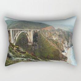 Bixby Bridge | Big Sur California Highway Ocean Coastal Travel Photography Rectangular Pillow