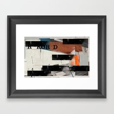Conductor's Heaven Framed Art Print