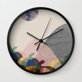 Pumpkin land Wall Clock
