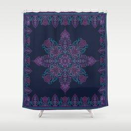 Hertie Paisley Scarf Shower Curtain