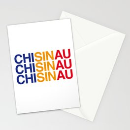 CHISINAU Stationery Cards