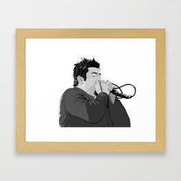 Chino Moreno  Framed Art Print