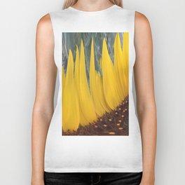 359 - Abstract Flower Landscape Biker Tank
