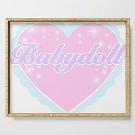 BABYDOLL Serving Tray