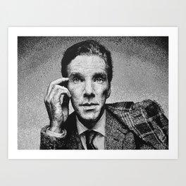 Benedict Cumberbatch Portrait #7 Art Print