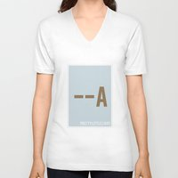 pretty little liars V-neck T-shirts featuring Pretty Little Liars - Minimalist by Marisa Passos