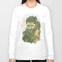 "mad max Long Sleeve T-shirts featuring Mad Max by Barbara ""Yuhime"" Wyrowińska"