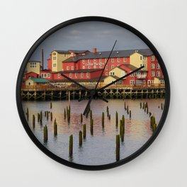 Cannery Pier Hotel Wall Clock