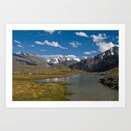 Altai Art Print