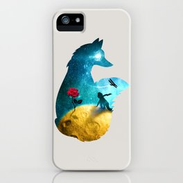 The Most Beautiful Thing (light version) iPhone Case