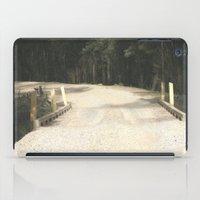 wooden iPad Cases featuring Wooden Bridge by Chris' Landscape Images & Designs