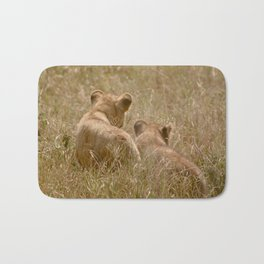 Brother Lions Bath Mat