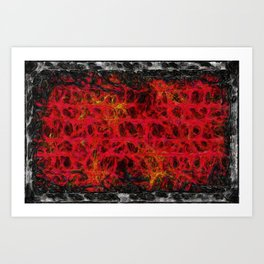 Weaveworld 011 In The Arms Of Mama Pus Art Print