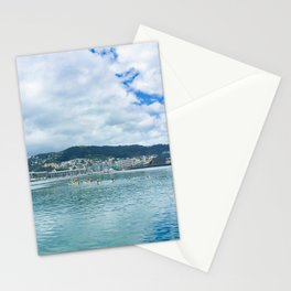 Wellington Harbour Paddle Boarders Stationery Cards