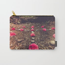 Sacred Floral Meditation in Nature Carry-All Pouch