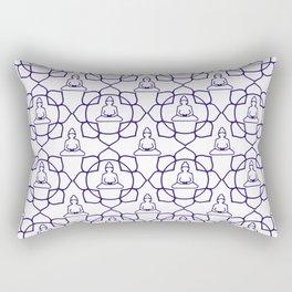 Eternal Buddha Rectangular Pillow