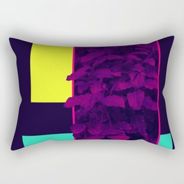 Neon Bush #society6 #retro Rectangular Pillow