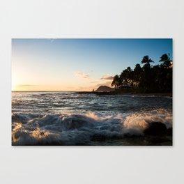 Ko'olina Sunset 4 Canvas Print