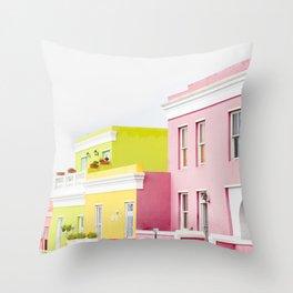 Bo Kaap Main Street Throw Pillow