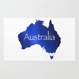 Australia Map Rug