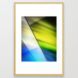 Soft Stained Glass Framed Art Print