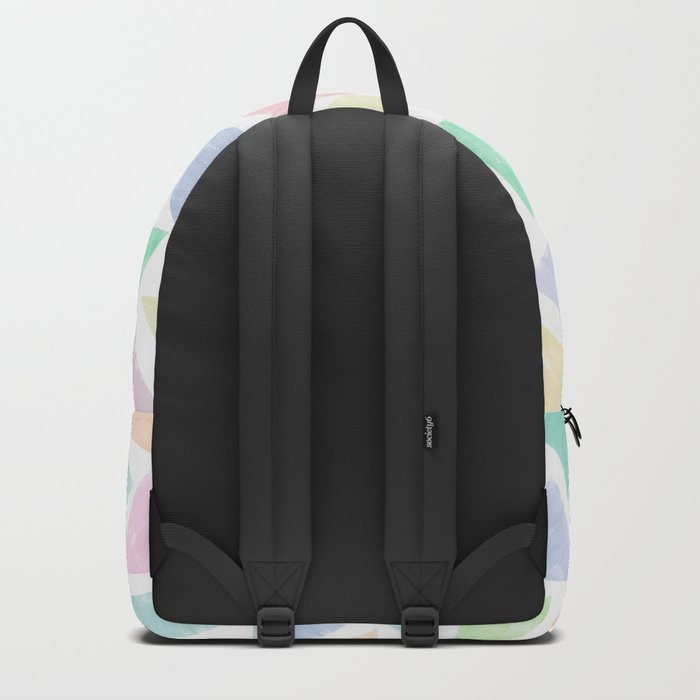 Colorful Geometric Patterns Backpack