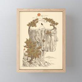 A Beautiful Mind Framed Mini Art Print