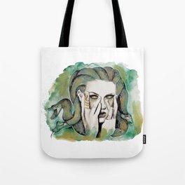 medusa's got a spell on taylor Tote Bag