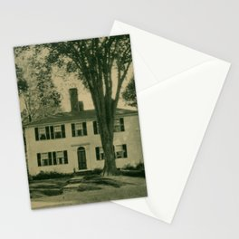 Vintage Photographic Print - Port Towns of Penobscot Bay (1922) - Stevens House, Belfast, Maine Stationery Cards