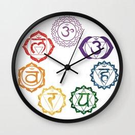 Chakra Wall Clock