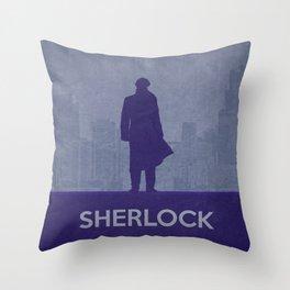Sherlock 02 Throw Pillow