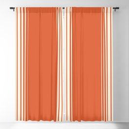 Marmalade & Crème Vertical Gradient Blackout Curtain