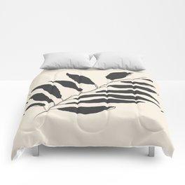 breezy palm Comforters