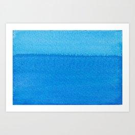 Blue Ocean Up Close Art Print