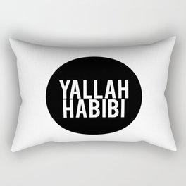 Yallah-Habibi arabic arabia art work Rectangular Pillow