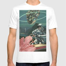 Midnight Ascent Mens Fitted Tee White MEDIUM