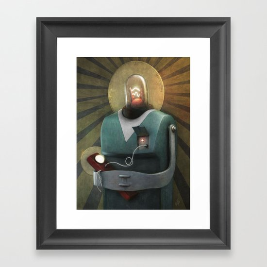 Mother & Child Framed Art Print
