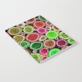 Crazy Quilt Notebook